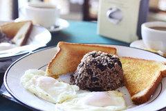 またまたコスタリカの朝食の定番「ガジョ・ピント」