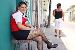 キューバの街角からお色気ショット